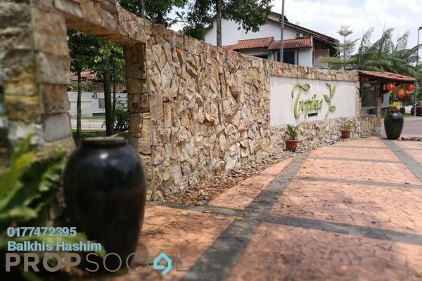For Rent Terrace at Tropika, Bukit Jelutong Freehold Semi Furnished 5R/6B 4.5k