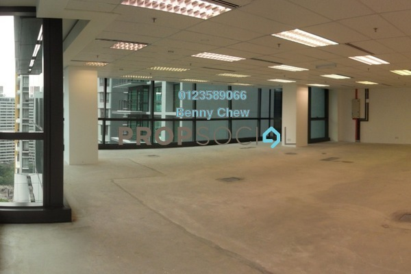 For Rent Office at Hampshire Place, KLCC Freehold Semi Furnished 0R/0B 19.5k