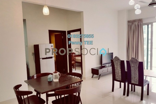 For Rent Serviced Residence at Regalia @ Jalan Sultan Ismail, Kuala Lumpur Freehold Fully Furnished 2R/2B 2.8k