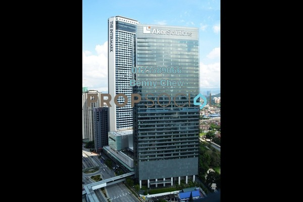 For Rent Office at Integra Tower, KLCC Freehold Semi Furnished 0R/0B 132k
