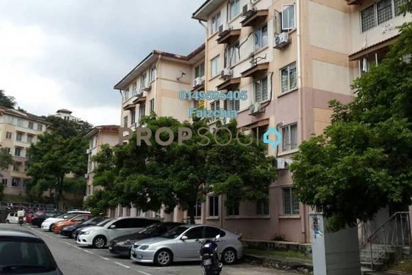 For Rent Apartment at Saujana Apartment, Damansara Damai Freehold Semi Furnished 3R/2B 900translationmissing:en.pricing.unit