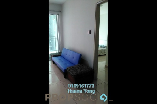 For Sale Serviced Residence at Pacific Place, Ara Damansara Freehold Semi Furnished 2R/2B 480k