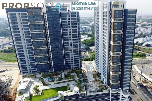 For Sale Serviced Residence at Paloma Serviced Residences, Subang Jaya Leasehold Semi Furnished 2R/0B 527k