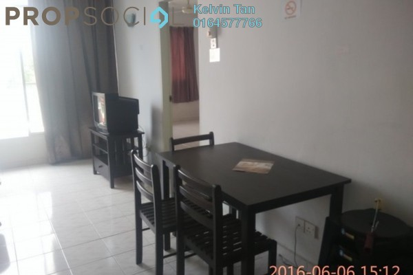 For Rent Apartment at Taman Kristal, Tanjung Tokong Freehold Fully Furnished 3R/2B 1.05k