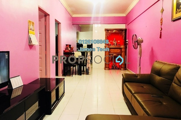 For Sale Apartment at Prima Bayu, Klang Freehold Semi Furnished 3R/2B 270k