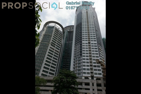 For Rent Condominium at Crest Jalan Sultan Ismail, KLCC Freehold Semi Furnished 3R/2B 4k