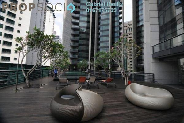 For Rent Condominium at The Troika, KLCC Freehold Fully Furnished 1R/2B 6k