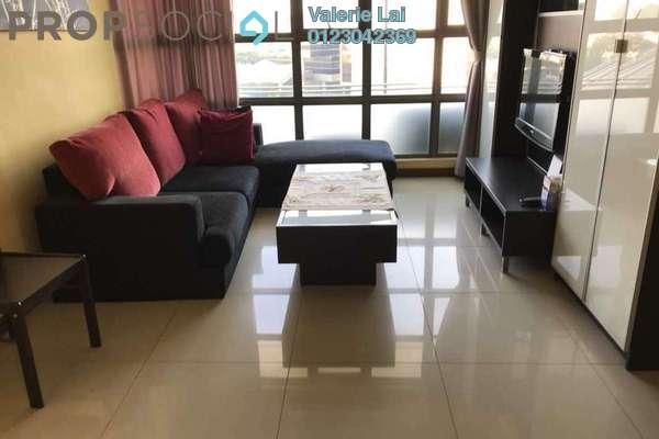 For Rent Condominium at Saujana Residency, Subang Jaya Freehold Fully Furnished 2R/1B 3k