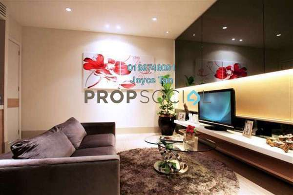 For Sale Condominium at Eve Suite, Ara Damansara Freehold Fully Furnished 1R/1B 520k