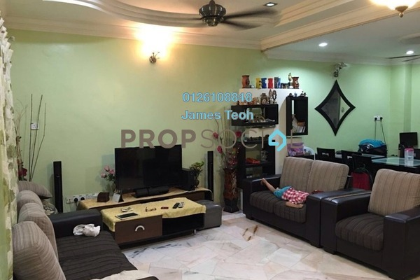 For Sale Terrace at Taman Sentosa Perdana, Klang Freehold Semi Furnished 4R/3B 450k