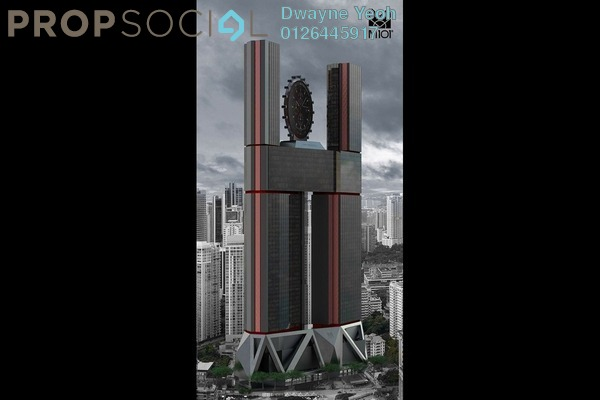 For Sale SoHo/Studio at M101˚ SkyWheel, KLCC Freehold Unfurnished 0R/1B 635k