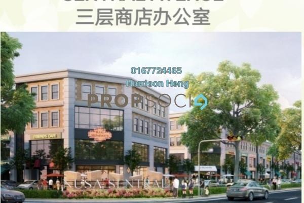 For Sale Shop at Nusa Sentral, Iskandar Puteri (Nusajaya) Freehold Unfurnished 0R/3B 1.3m