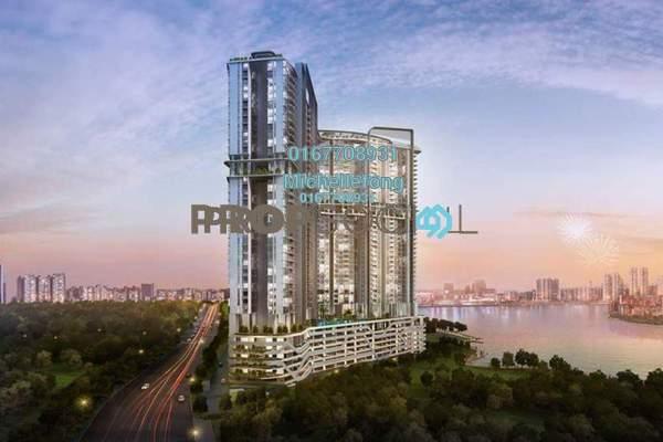For Sale Serviced Residence at Sovereign Bay, Bandar Baru Permas Jaya Freehold Semi Furnished 1R/1B 380k