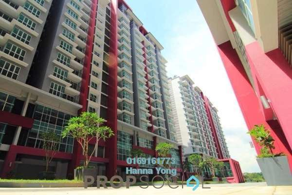 For Sale Serviced Residence at Pacific Place, Ara Damansara Freehold Unfurnished 3R/3B 750k