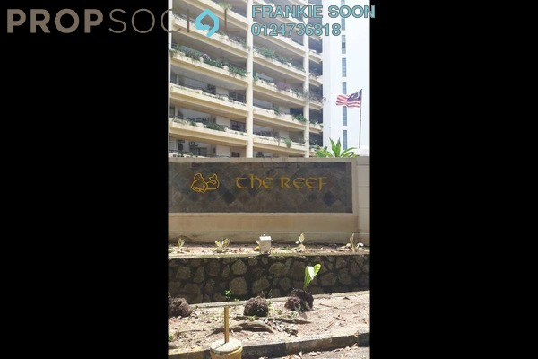 For Rent Condominium at The Reef, Batu Ferringhi Freehold Fully Furnished 2R/1B 2k