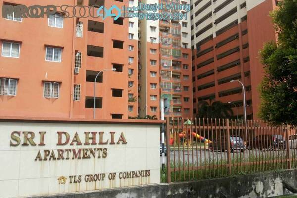 For Rent Apartment at Sri Dahlia Apartment, Kajang Freehold Semi Furnished 3R/2B 900translationmissing:en.pricing.unit