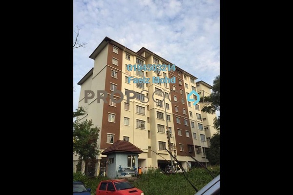 For Sale Apartment at Suria Subang Apartment, Shah Alam Freehold Semi Furnished 3R/2B 290k