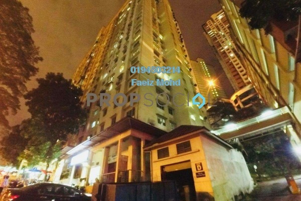 For Sale Apartment at Flora Damansara, Damansara Perdana Freehold Unfurnished 3R/2B 170k