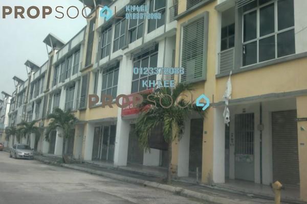 For Sale Shop at Klang Sentral Commercial Centre, Meru Leasehold Unfurnished 0R/0B 1.1m