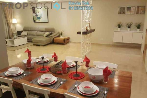 For Rent Condominium at 28 Mont Kiara, Mont Kiara Freehold Fully Furnished 3R/3B 9k