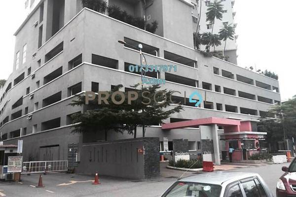 For Rent Condominium at Symphony Heights, Selayang Freehold Semi Furnished 3R/2B 1.3k