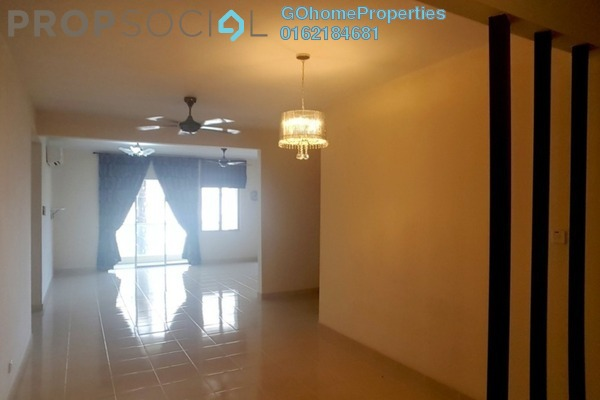 For Sale Condominium at Platinum Hill PV8, Setapak Freehold Semi Furnished 3R/2B 630k