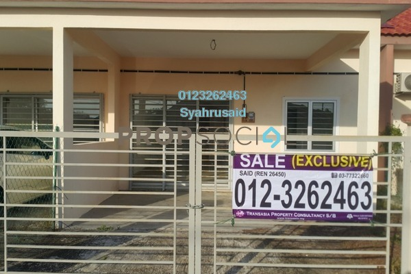 For Sale Terrace at Taman Bagan Kurnia, Port Dickson Freehold Unfurnished 3R/2B 200k