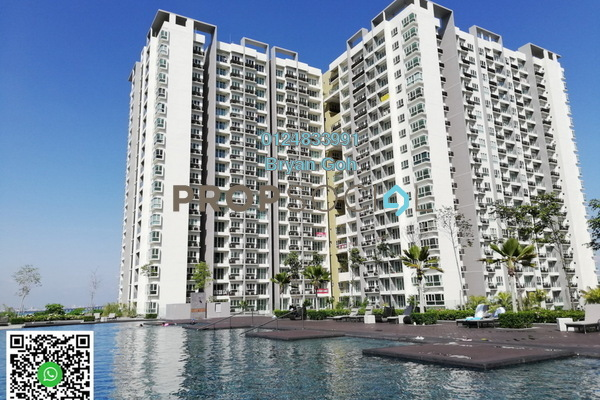 For Rent Condominium at Tropicana Bay Residences, Bayan Indah Freehold Unfurnished 1R/1B 1.1k