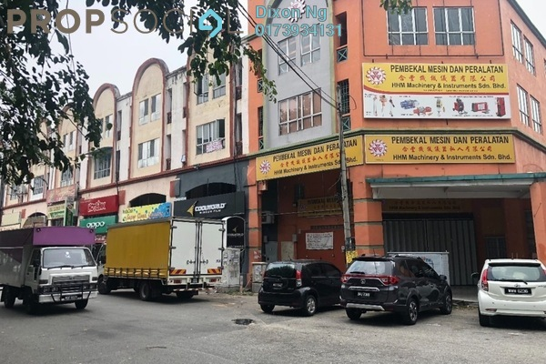 For Sale Shop at Taman Perindustrian KIP, Kepong Freehold Semi Furnished 1R/1B 4.5m