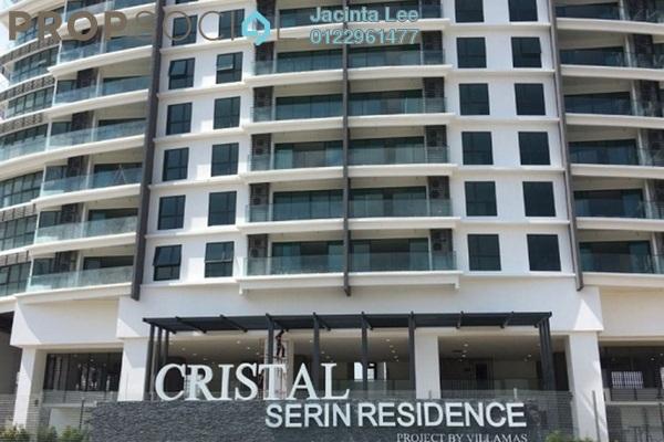 For Sale Condominium at Cristal Residence, Cyberjaya Freehold Semi Furnished 4R/3B 470k