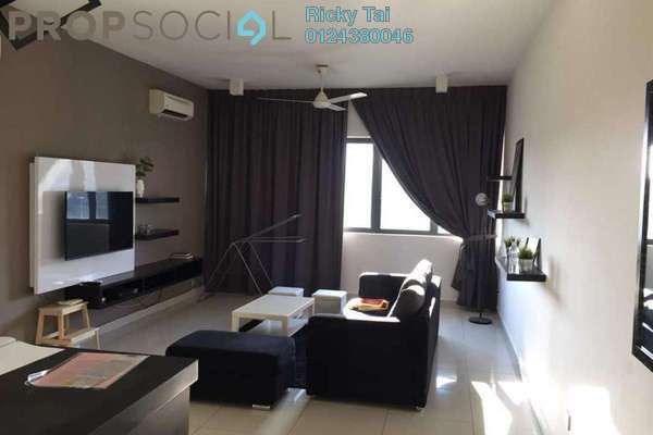For Rent Condominium at Mirage By The Lake, Cyberjaya Freehold Fully Furnished 2R/2B 2k