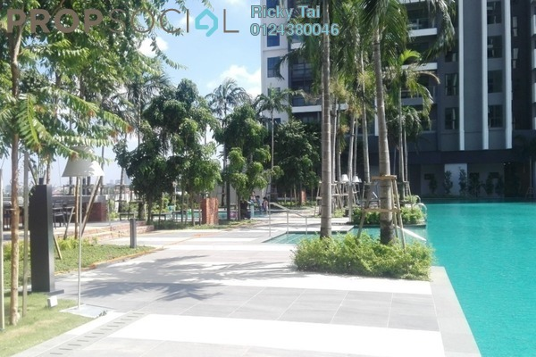 For Rent Condominium at CitiZen, Old Klang Road Freehold Semi Furnished 2R/2B 1.8k