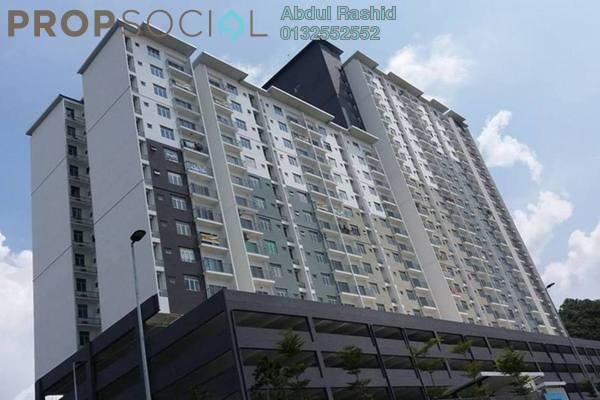 For Rent Apartment at Saujana Permai Apartment 2, Kajang Freehold Semi Furnished 3R/2B 900translationmissing:en.pricing.unit