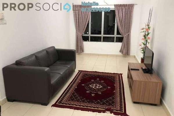 For Rent Apartment at Mutiara Residence @ Serdang, Seri Kembangan Freehold Fully Furnished 4R/3B 1.5k