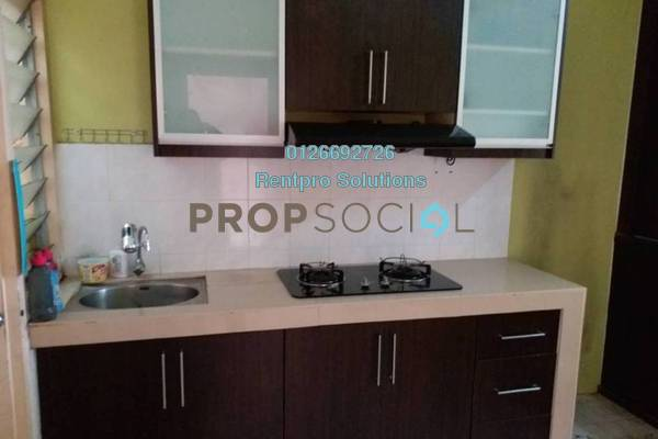 For Rent Apartment at Cemara Apartment, Cheras Freehold Semi Furnished 3R/2B 1.2k