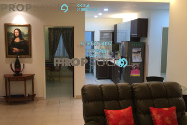 For Sale Apartment at Kasuarina Apartment, Klang Freehold Semi Furnished 3R/2B 328k