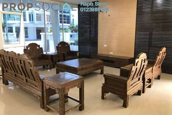 For Rent Terrace at Garden Residence, Cyberjaya Freehold Fully Furnished 7R/5B 5.5k