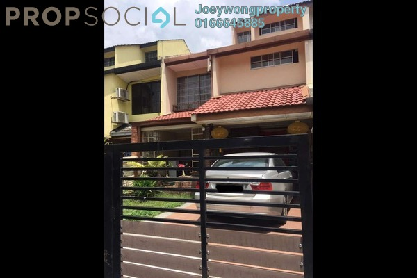 For Sale Terrace at Wangsa Baiduri, Subang Jaya Freehold Semi Furnished 5R/3B 950k