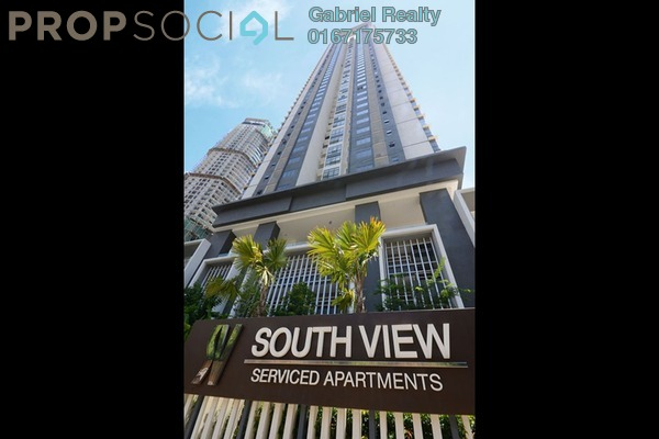 For Rent Condominium at South View, Bangsar South Freehold Semi Furnished 3R/2B 3k
