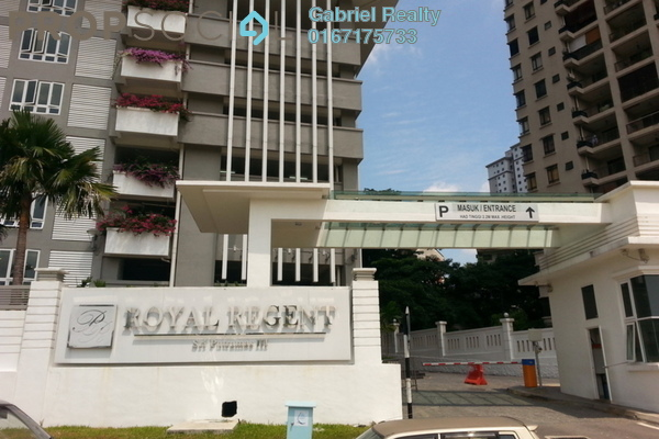 For Rent Condominium at Royal Regent, Dutamas Freehold Semi Furnished 4R/2B 4k