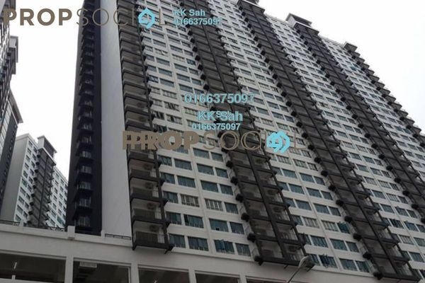For Sale Condominium at OUG Parklane, Old Klang Road Freehold Semi Furnished 3R/2B 418k