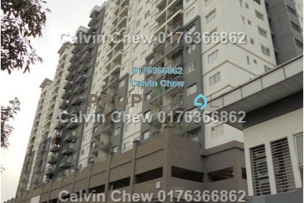 For Sale Condominium at Casa Idaman, Jalan Ipoh Freehold Unfurnished 3R/2B 342k