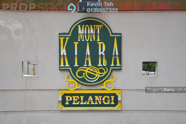 For Sale Condominium at Mont Kiara Pelangi, Mont Kiara Freehold Fully Furnished 3R/2B 1.25m