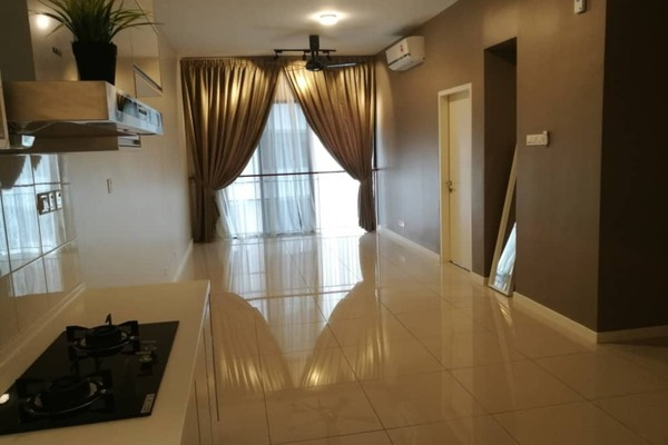 For Rent Condominium at Renai Jelutong Residences, Bukit Jelutong Freehold Semi Furnished 2R/2B 1.9k