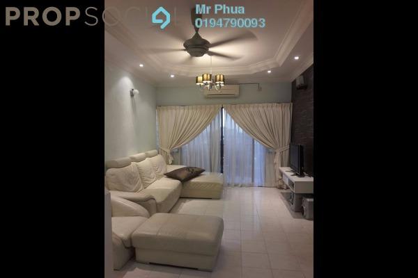 For Rent Apartment at Sri Saujana, Sungai Dua Freehold Fully Furnished 3R/2B 1.4k
