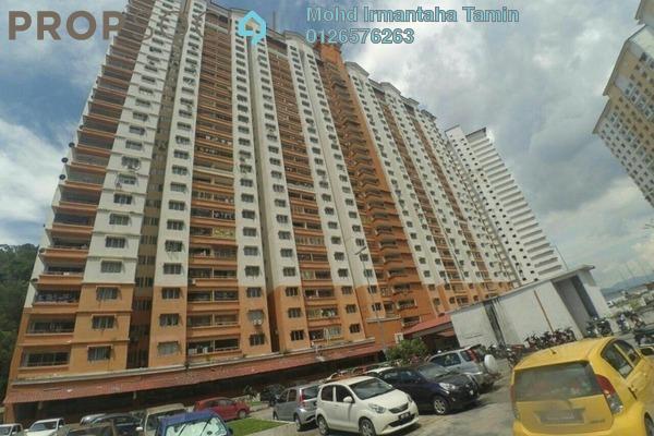 For Sale Apartment at Flora Damansara, Damansara Perdana Freehold Semi Furnished 3R/2B 240k