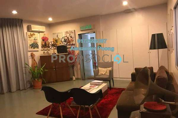 For Sale Office at Ritze Perdana 1, Damansara Perdana Leasehold Semi Furnished 0R/2B 830k