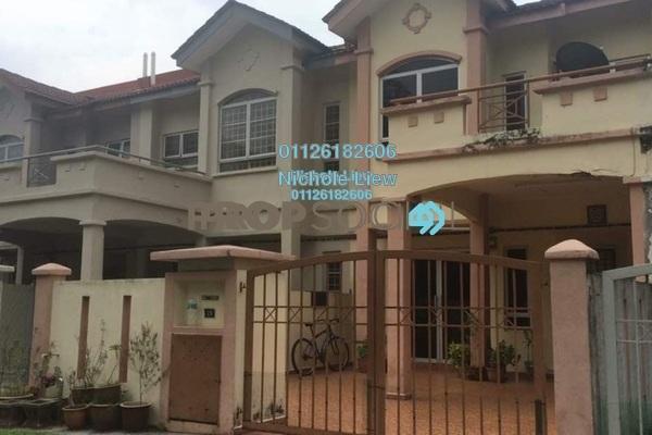 For Sale Terrace at Taman Sejati 5, Klang Freehold Semi Furnished 4R/3B 419k