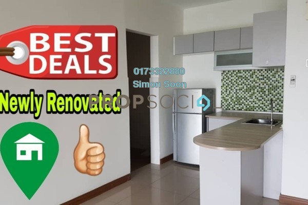 For Rent Condominium at Seri Puteri, Bandar Sri Permaisuri Freehold Semi Furnished 3R/3B 1.8k