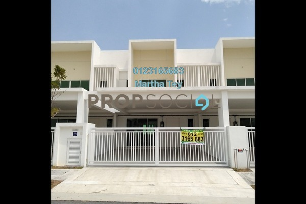 For Sale Superlink at Elvina, Bandar Sri Sendayan Freehold Unfurnished 4R/4B 625k